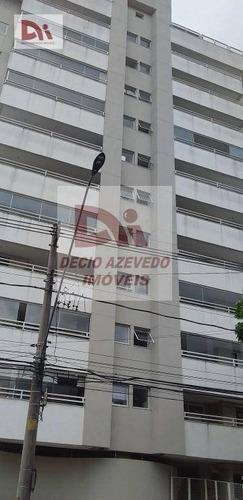 Imagem 1 de 20 de Apartamento Com 2 Dormitórios Para Alugar, 75 M² Por R$ 1.200/mês + Condomínio + Iptu No Centro - Taubaté/sp - Ap0058