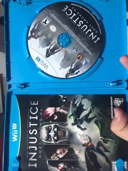Wii U Injustice God Among Us