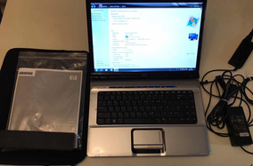 Notebook Hp Core 2 Duo - Tela 15.4 - Hd 160gb - Ram 2gb