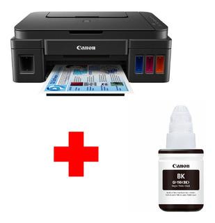 Impresora Multifunción Canon Pixma G2100 + Botella De Tinta