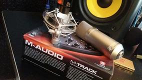 Kit Studio ( Placa De Audio + Mic Condensador )