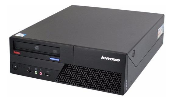 Pc Cpu Desktop Lenovo / Sem Hd Gb / Memoria 4gb