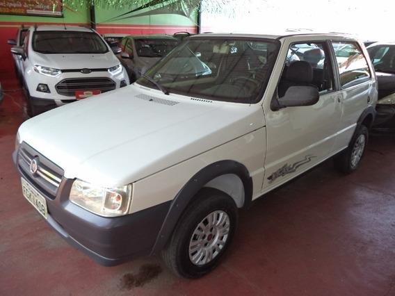 Fiat Uno Mille Fire Way 1.0 Branco 2013