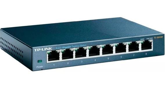 Tp-link Switch 8 Puertos Gigabit Tl-sg108 Ethernet Cuotas