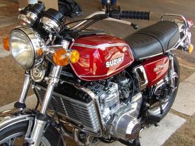 Moto Classica Suzuki Modelo A Gt 750 Ano 1976.