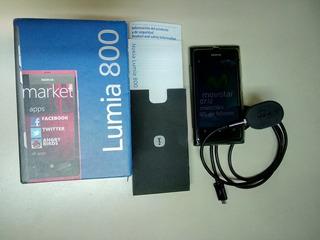 Celular Nokia Lumia 800 Con Linea Movistar (40v)