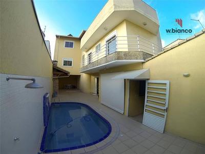 Sobrado Alto Padrão Residencial À Venda, Rudge Ramos, São Bernardo Do Campo , 4 Dorm, 1 Suite, 3 Vagas - Ref.so0248.#wbianco - So0248