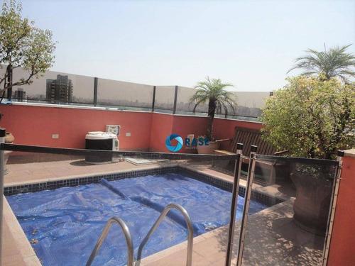 Linda Cobertura Com 5 Dormitórios À Venda, 400 M² - Moema - São Paulo/sp - Co0179