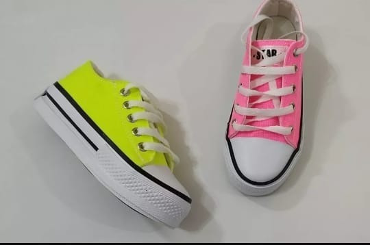 Zapatillas Flúor Niñas Primavera 2019 -2020 Talles 27 Al 34