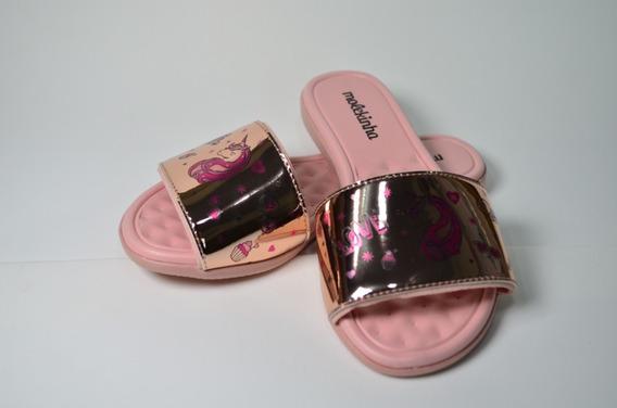 Rasteira Unicórnio Molekinha 2104.420/ Gaby Calçados