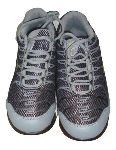 Zapatos Deportivos Hummer Talla 42 Gris Claro Y Oscuro H2 20