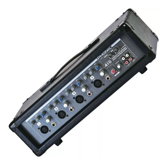 Mesa Amplificada Cabeçote Phonic 410 T1 Tipo Behringer Pmp