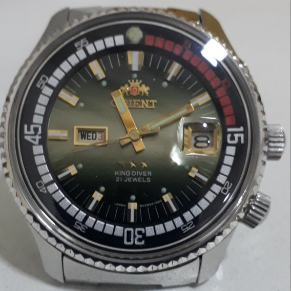 Orient Tres Chaves King Diver 1942 Todo Original