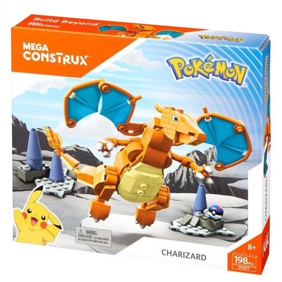 Pokemon Charizard 198 Pzas Mega Construx