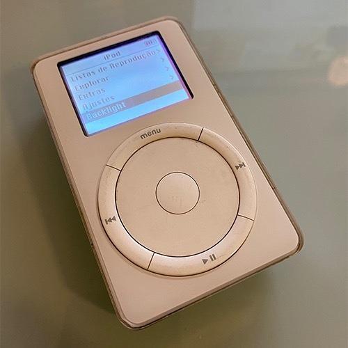 iPod Raridade Segunda Geração