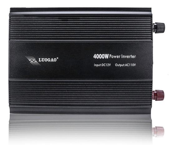 Inversor 4000w Veicular 12v Pra 110v Liga Freezers Geladeira