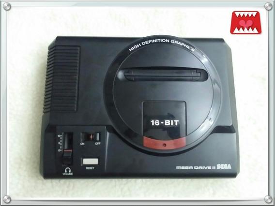 Console Mega Drive 2 Tectoy + 1 Controle + 2 Jogos Originais
