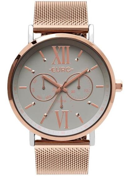 Relógio Euro Feminino Multifunção Eu6p29aha/5k