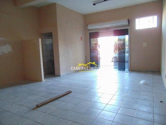 Salão Para Alugar, 50 M² Por R$ 800/mês - Cidade Nova - Santa Bárbara D