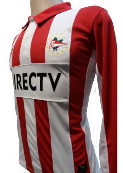 Camisa Estudiantes De La Plata Manga Longa