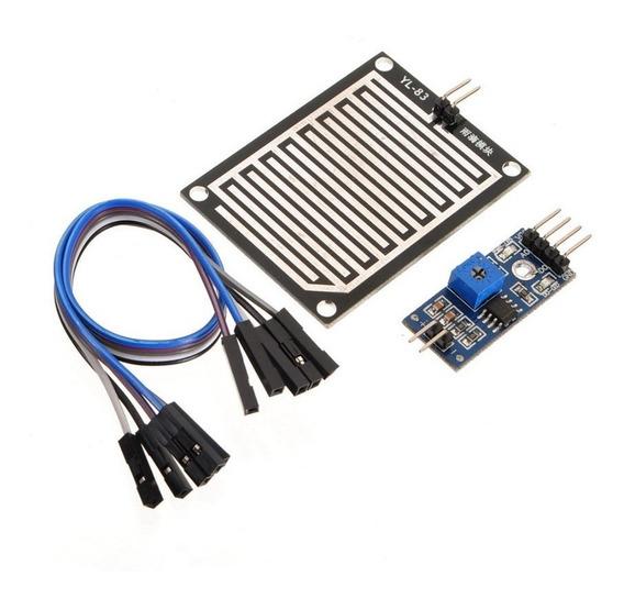 Sensor De Chuva Para Arduino Uno E Mega (1073)
