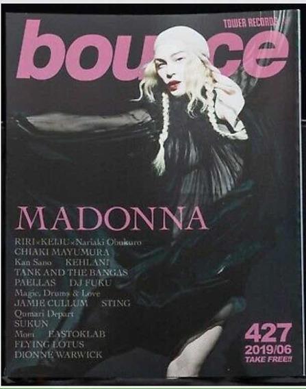 Madonna Bounce Revista Japonesa