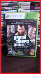 Grand Theft Auto Iv Gta 4 + Episodes Liberty City Xbox 360