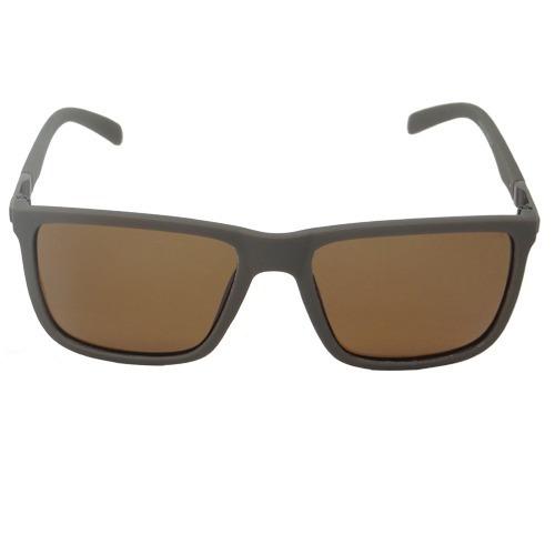 Óculos De Sol Quadrado Marrom 02645