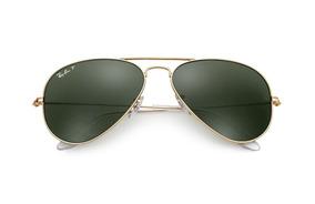 3da84cf80 Oculos De Sol Ray Ban Aviador Original Rb3025 Polarizado