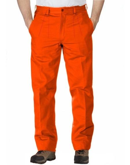 Pantalon De Trabajo Clasico Reforzado Grafa 70, Botones 6bol