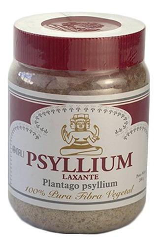 Psyllium Laxante 200gr Plantago Tapa Roja Fibra Digestiva