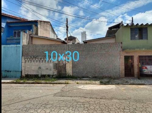 Terreno À Venda, 300 M² Por R$ 1.500.000,00 - Vila Prudente - São Paulo/sp - Te0155