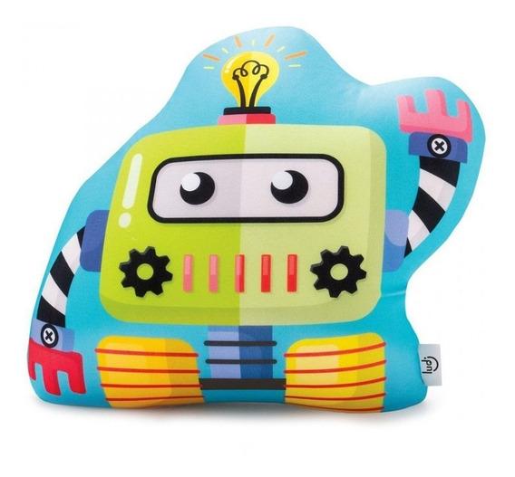 Almofada Robô Decoração Quarto De Menino Imaginarium