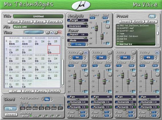 Plugun Vocalizador Mu Voice Vst. Rtas Windows 32/64 Bits