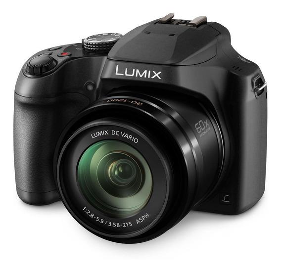 Câmera Super Zoom 4k Panasonic Lumix Fz80 60x
