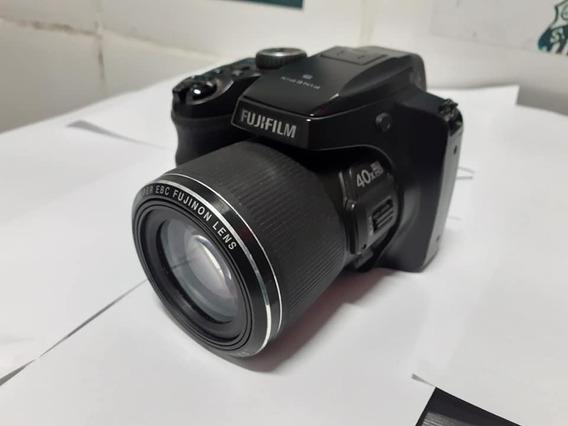 Câmera Profissional Fujifilm Finepix S8200 Full Hd Black