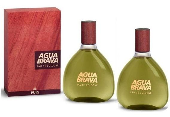 Paquete 2 X 1 De Agua Brava De Antonio Puig Cologne 100 Ml