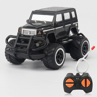 1:43 Mini Rc Todoterreno 4 Canales Modelo Vehiculo Negro