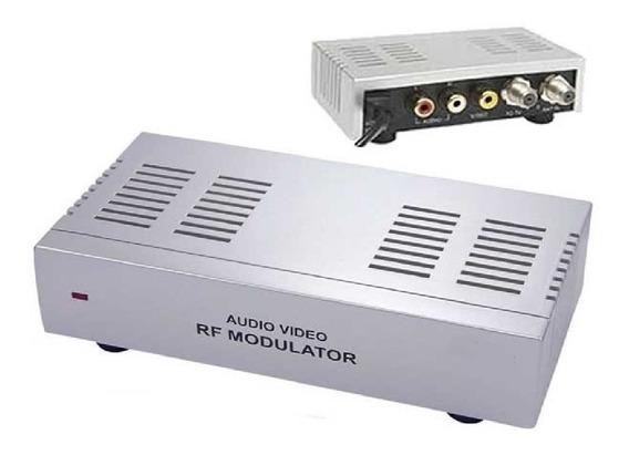 Modulador Rf Para Tv Sem Saida Rca Audio E Video