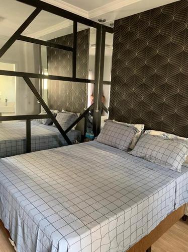 Apartamento Com 3 Dormitórios À Venda, 91 M² Por R$ 605.000 - Campestre - Santo André/sp - Ap6055