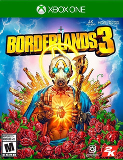 Borderlands 3 Xbox One Fisico Sellado Entrega Inmediata