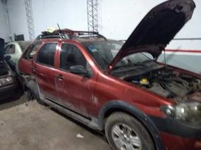 Fiat Palio 1.8 Nafta Tope Gama Chocada En Marcha C/ 08