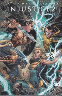 Dc Comics Deluxe Injustice 2 Libro Dos Sellado Español