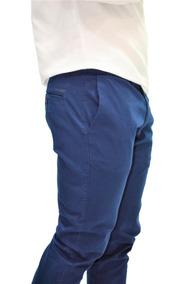 Calça Azul Ogochi Masculina Slim Fit