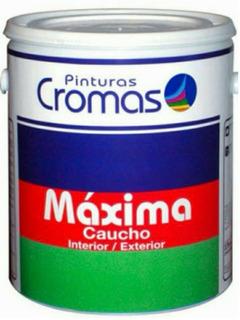 Galon De Pinturas Cromas Maxima Caucho Interior Y Exterior