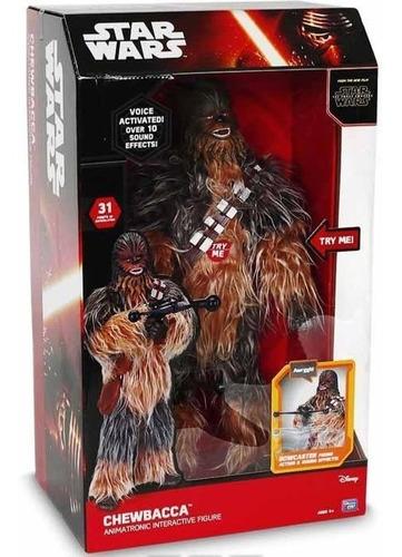 Star Wars Chewbacca  Juguete Animatronico Interactivo 2