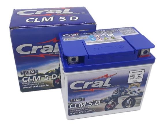 Bateria Selada Cral 12v 5ah Titan 150 Mix Fan 150 Xre300
