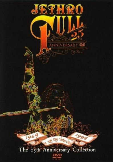 Jethro Tull 25 Aniversario Collection En Dvd