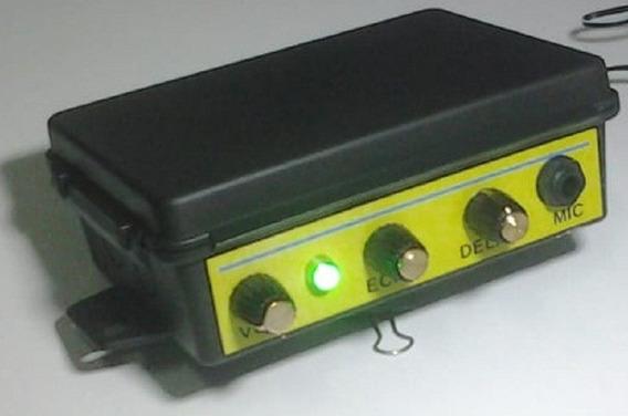Camara De Eco Preamp P/ Microfone Ou Guitarra E Com Ent 12v