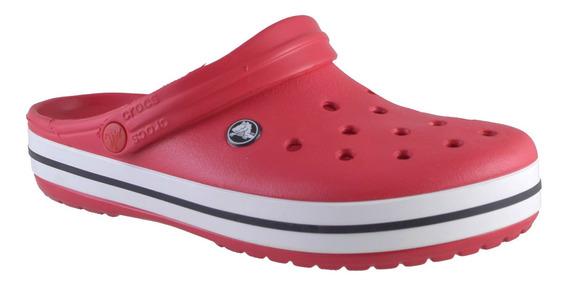 Crocs Crocband Hombre Rojo